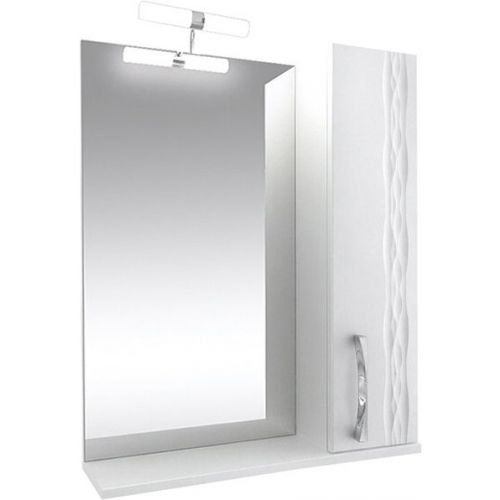Зеркало-шкаф Triton Кристи 70 R с подсветкой, белый