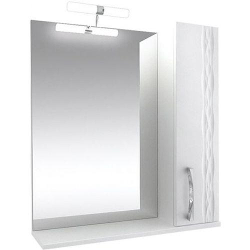 Зеркало-шкаф Triton Кристи 80 R с подсветкой, белый