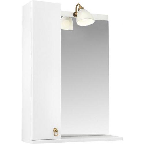 Зеркало-шкаф Triton Реймс 60 L с подсветкой, белый