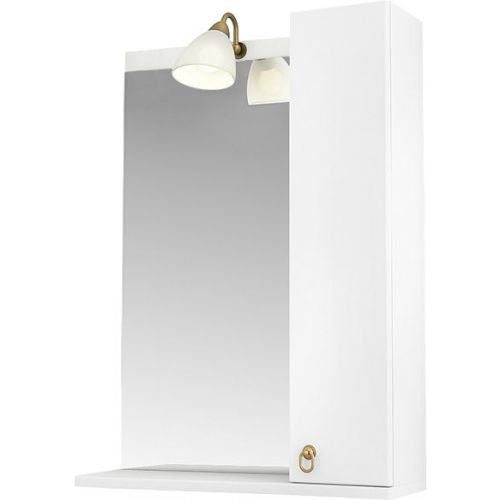 Зеркало-шкаф Triton Реймс 60 R с подсветкой, белый
