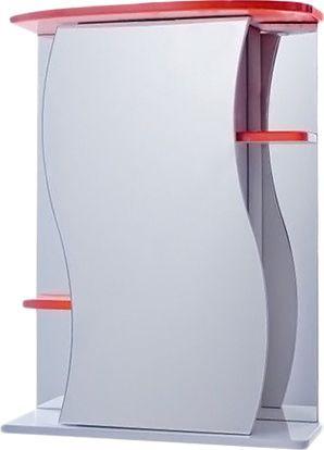Зеркало-шкаф Vigo Alessandro 3-55 красный