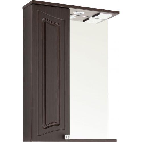 Зеркало-шкаф Vod-Ok Адам 55 L, венге