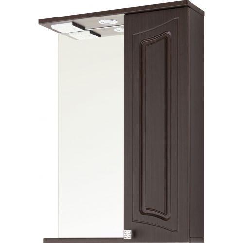 Зеркало-шкаф Vod-Ok Адам 55 R, венге