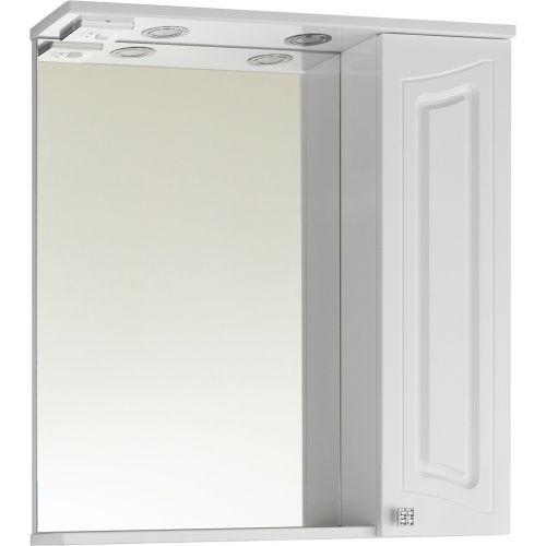 Зеркало-шкаф Vod-Ok Адам 75 R, белый