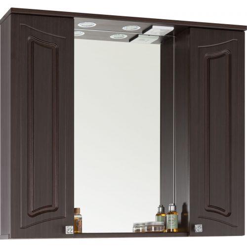 Зеркало-шкаф Vod-Ok Адам 90 венге