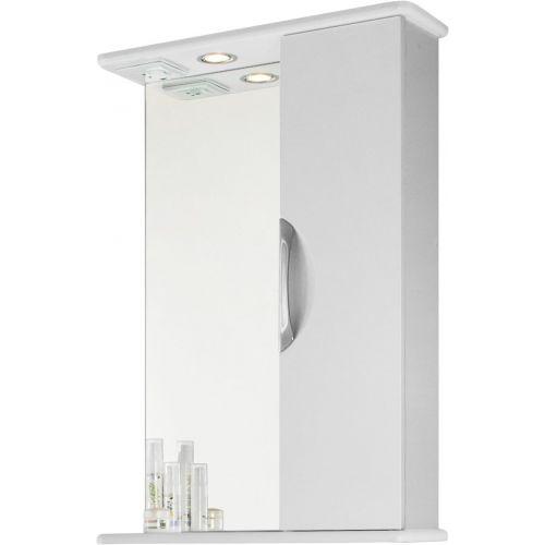 Зеркало-шкаф Vod-Ok Лира 55 R, белый