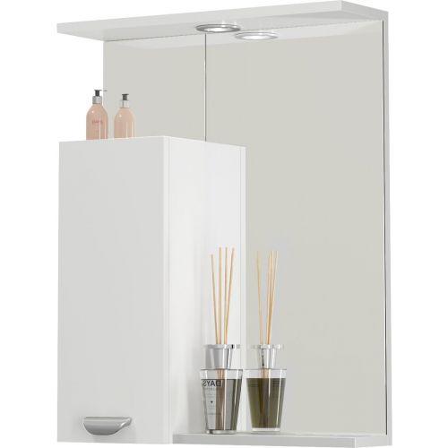 Зеркало-шкаф Vod-Ok Марко 60 L, белый