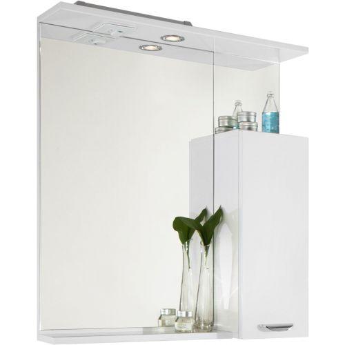 Зеркало-шкаф Vod-Ok Марко 75 R, белый