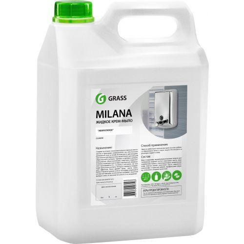 Жидкое мыло Grass Milana крем-мыло, жемчужное, 5 л