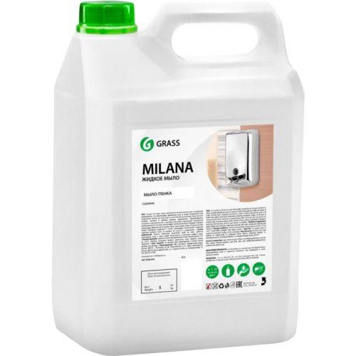 Жидкое мыло Grass Milana пенное, 5 л