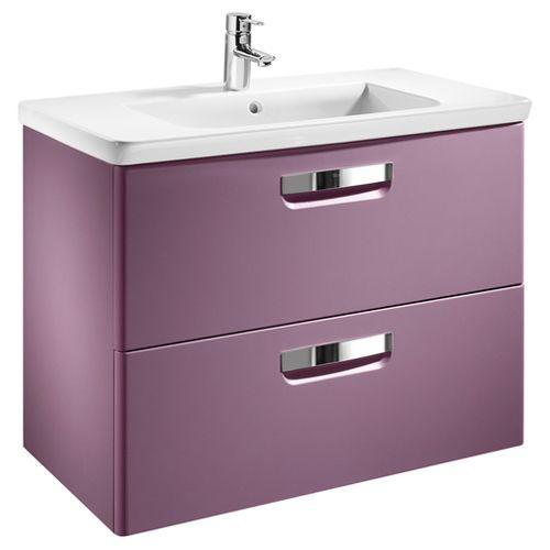Тумба для комплекта Roca Gap 80 фиолетовая