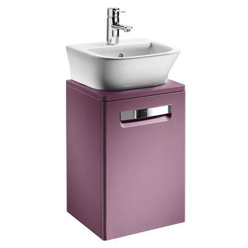 Тумба для комплекта Roca Gap 45 фиолетовая