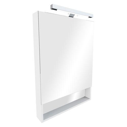Зеркало-шкаф Roca Gap 80 белое матовое